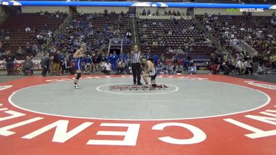 160 lbs Final - Cade Linn, Southern Columbia Area Hs vs Hunter Thompson, Reynolds Hs