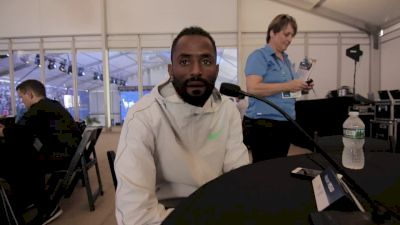 Hassan Mead's goal is to get used to road racing at NYC 5K