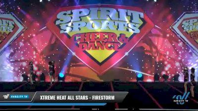 Xtreme Heat All Stars - Firestorm [2021 L2 Youth - D2 - Small Day 1] 2021 Spirit Sports: Battle at the Beach