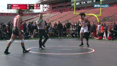 184 lbs Nick Gravina, RU vs Jaron Smith, MD