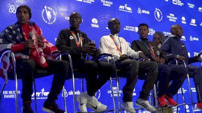 TCS New York City Marathon Men's Press Conference