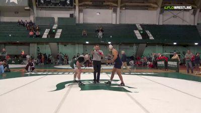 174- Final, Myles Amine (University of Michigan) vs Drew Hughes (Michigan State)