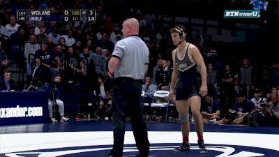 157 lbs Jason Nolf, PSU vs Luke Weiland, ARMY