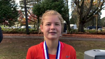 Allie Ostrander knew a hard pace from the gun would be beneficial in west region field