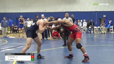 197 Finals - Devon Carrillo, Wesleyan vs Kyle Koser, Messiah