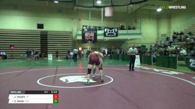 197A Finals 1st - Jared Haught, Virginia Tech vs Chris Weiler, Lehigh