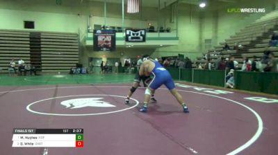 285A Finals 1st - Mike Hughes, Hofstra vs Derek White, Oklahoma State