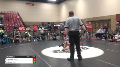 100 RR Rnd 1 - Elijah Murray, Warrior Athletics (NC) vs Jeremy Ginter, Legion Of Doom