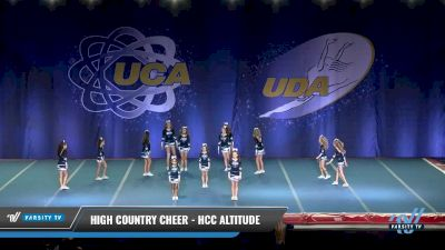 High Country Cheer - HCC Altitude [2017 L2 Junior Day 2] 2017 UCA & UDA Mile High Championship