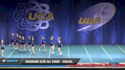Colorado Elite All Stars - Avalanche [2017 L2 Junior Day 2] 2017 UCA & UDA Mile High Championship