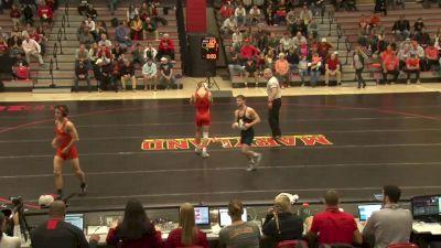 133 lbs Michael Doetsch, Maryland vs Nathan Boston, Campbell