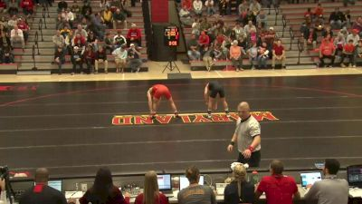 141 lbs Ryan Diehl, Maryland vs Luke Stewart, Campbell