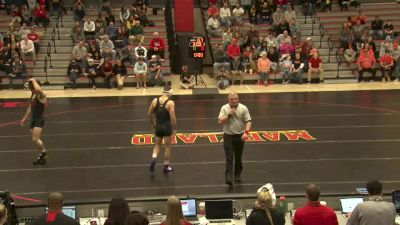 165 lbs Quentin Perez, Campbell vs Brandon Burnham, Maryland