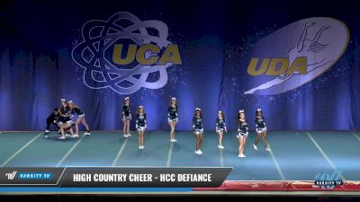 High Country Cheer - HCC Defiance [2017 L4.2 Senior Day 2] 2017 UCA & UDA Mile High Championship