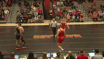 285 lbs Youssif Hemida, Maryland vs Jere Heino, Campbell