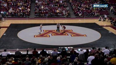 125 lbs Ethan Lizak, Minnesota vs Tony DeCesare, Air Force
