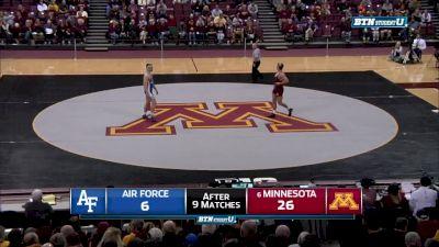 285 lbs Rylee Streifel, Minnesota vs Matt Wagner, Air Force