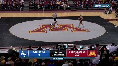 184 lbs Owen Webster, Minnesota vs Zen Ikehara, Air Force