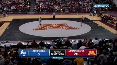 174 lbs Chris Pfarr, Minnesota vs Michael Billingsley, Air Force