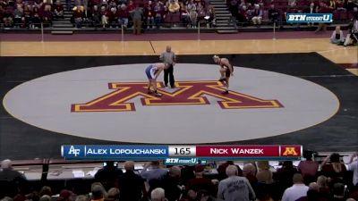 165 lbs Nick Wanzek, Minnesota vs Alex Lopouchanski, Air Force