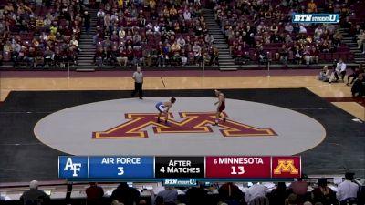 157 lbs Jake Short, Minnesota vs Dane Robbins, Air Force