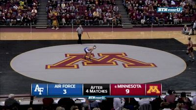 149 lbs Hunter Marko, Minnesota vs Tommy Stager, Air Force