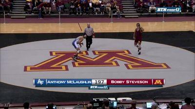 197 lbs Bobby Steveson, Minnesota vs Anthony McGlaughlin, Air Force