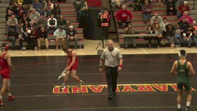 133 lbs Jose Tapia, GMU vs Michael Doetsch, Maryland