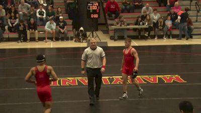 149 lbs Adam Whitesell, Maryland vs Matt Raines, GMU