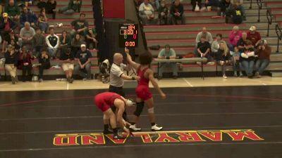 197 lbs Spencer Woods, Maryland vs Austin Harrison, GMU