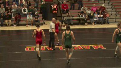 157 lbs Kyle Cochran, Maryland vs Creed Lump, GMU