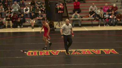 184 lbs Jaron Smith, Maryland vs Philip Stolfi, GMU