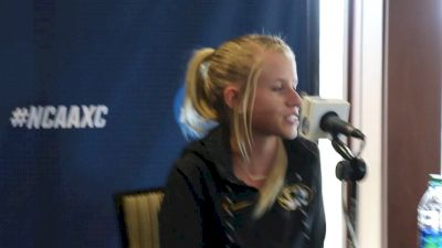 Defending NCAA champion Karissa Schweizer on increased pressure  her team just missing cut for NCAAs