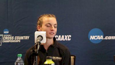 Jenny Simpson has a big impact on current Colorado squad
