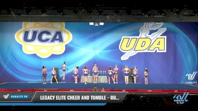 Legacy Elite Cheer and Tumble - Obsession [2017 L3 Senior Day 2] 2017 UCA Bluegrass Championship