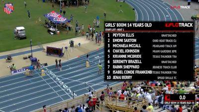 Girls' 800m, Final - Age 14 - Cha'iel Johnson 2:09