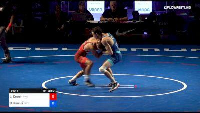 55 kg 1 Of 3 - Liam Cronin, Hoosier Wrestling Club vs Brady Koontz, Ohio RTC
