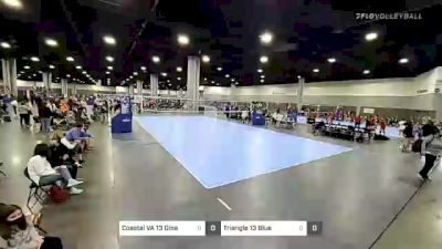 Coastal VA 13 Gina vs RIOVC 13 Manuella - 2021 Capitol Hill Volleyball Classic