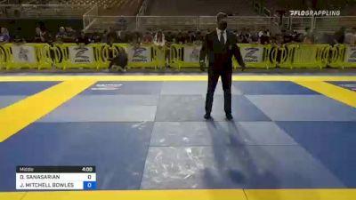 DANIEL SANASARIAN vs JAIDEN MITCHELL BOWLES 2021 Pan Kids Jiu-Jitsu IBJJF Championship