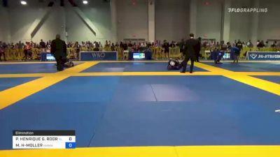 CECILIA MENA vs TAYLER M. RESURIZ 2021 American National IBJJF Jiu-Jitsu Championship
