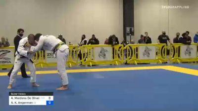 Arnaldo Maidana De Oliveira vs Alika K. Angerman 2020 Atlanta International Open IBJJF Jiu-Jitsu Championship