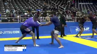 MATTHEW DERMOT LOEW vs COLE TODD BRANDT 2021 World IBJJF Jiu-Jitsu No-Gi Championship