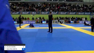GABRIEL SILVA COSTA vs TAINAN DALPRA COSTA 2020 European Jiu-Jitsu IBJJF Championship