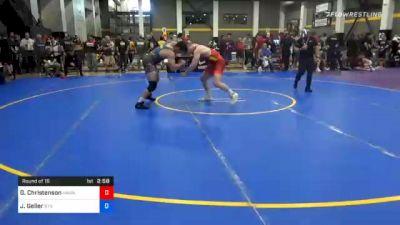 92 kg Prelims - Gabe Christenson, Hawkeye Wrestling Club vs Jeffrey Geller, Bts Msb