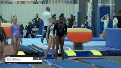 Carsyn Coleman - Vault, Precision Gymnastics - 2021 American Classic and Hopes Classic