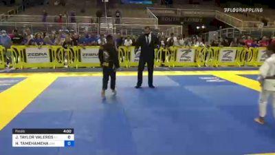 JERMAINE TAYLOR VALEROS vs HOOMAUIKAIKAOLAOKAMA TAMEHAMEHA 2021 Pan Kids Jiu-Jitsu IBJJF Championship