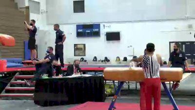 Akash Modi - Pommel Horse, Stanford University Mens Gymnastics - 2021 Men's Olympic Team Prep Camp