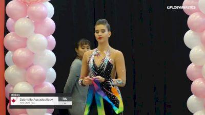 Gabrielle Assadoullaev - Ribbon, York Stars RGC - 2019 Elite Canada - Rhythmic