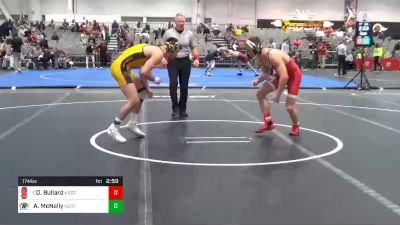 174 lbs Prelims - Daniel Bullard, NC State vs Andrew McNally, Kent State