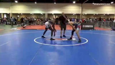 160 lbs Consolation - Kaden Summer, Arizona vs Josh Wright, Villains Of Voldosta